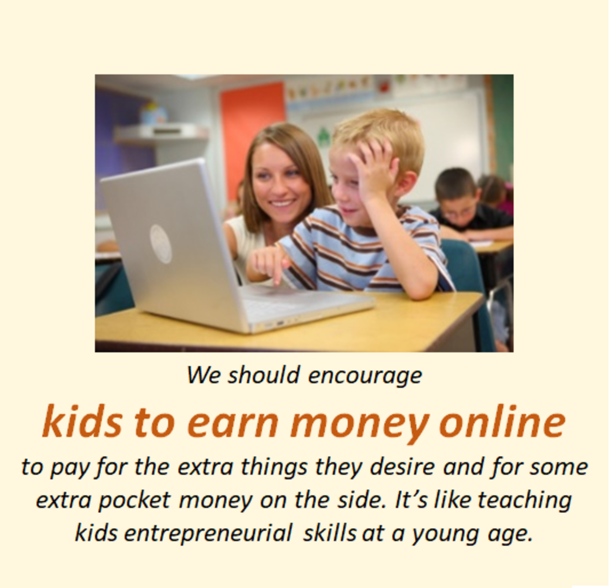 Kids Can Earn Money Online Too