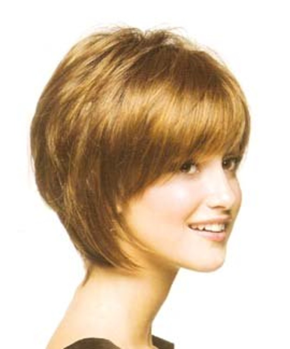 Haircuts: Short Layered Hair Cuts and Hairstyles