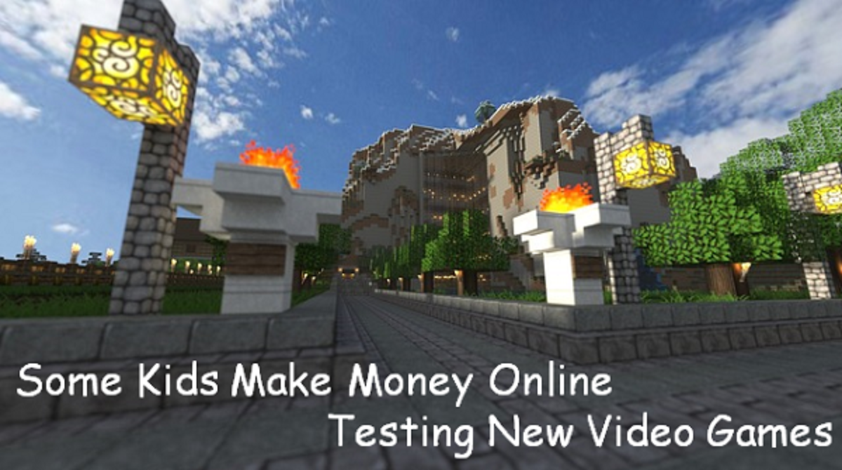 Some Kids Make Money Online Testing New Video Games