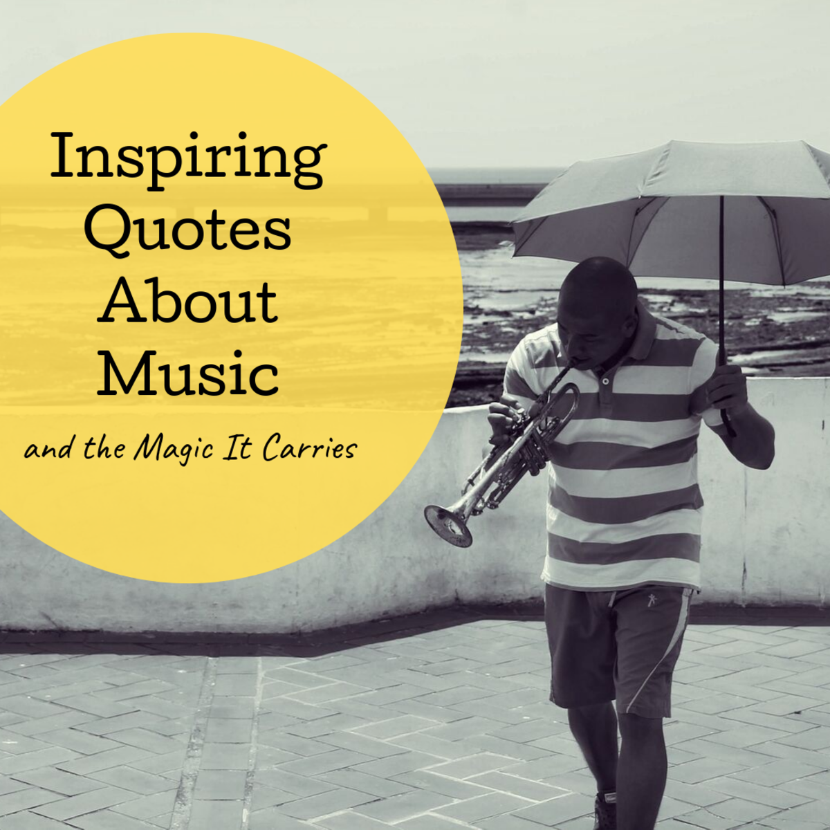 Read over numerous inspirational quotes related to music and the magic it brings to our lives.