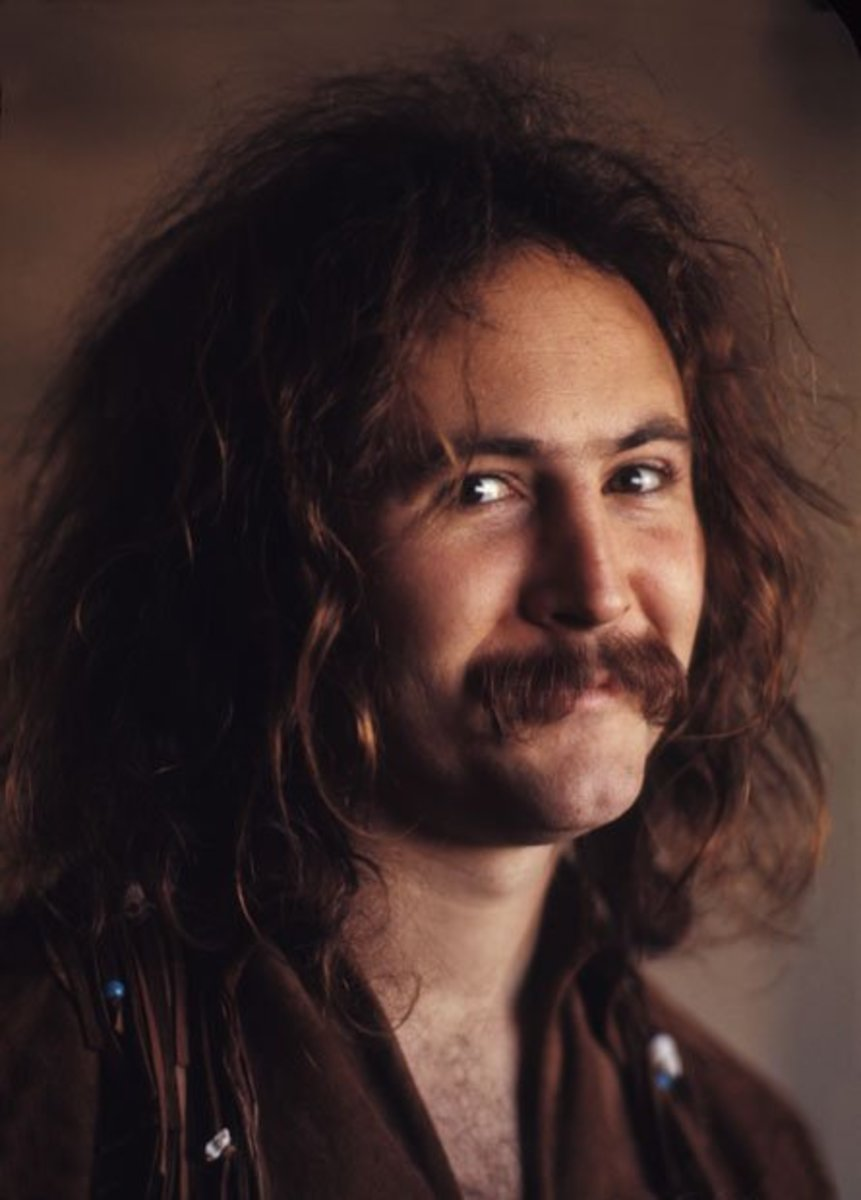 David Crosby's Drug Days