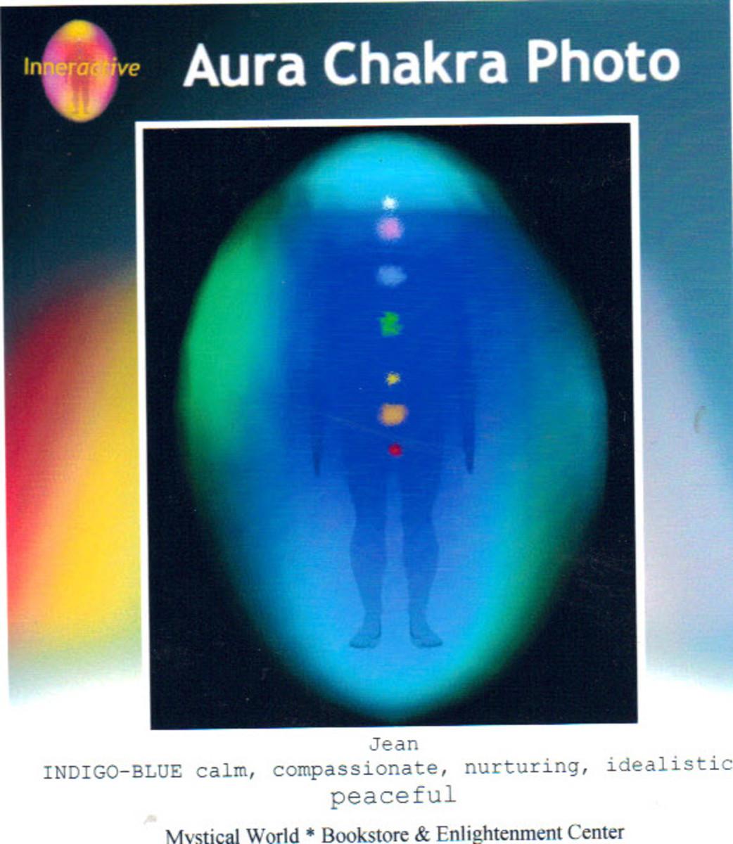 Aura Colors Interpreted