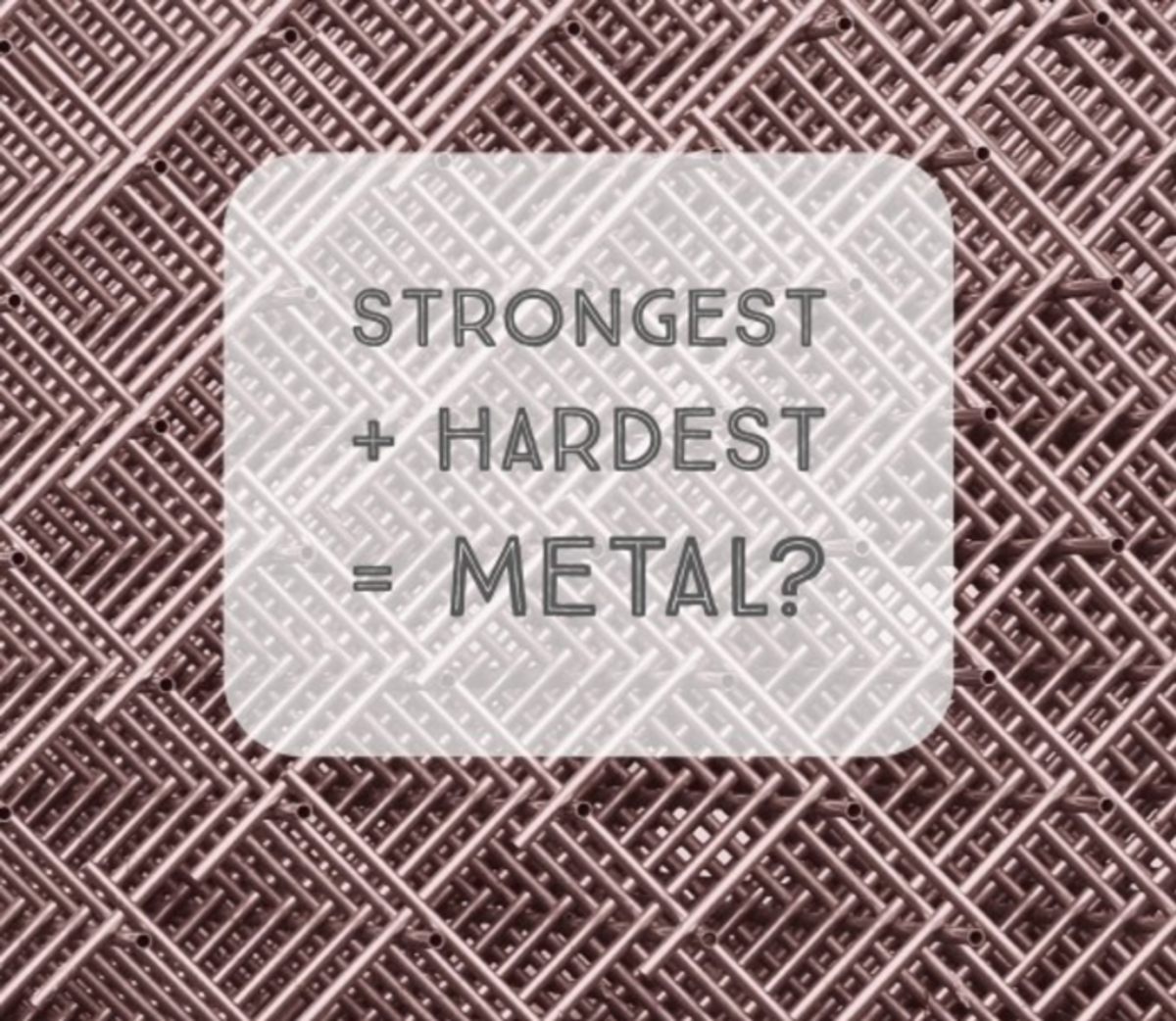 What Are the Strongest & Hardest Metals Known to Mankind?