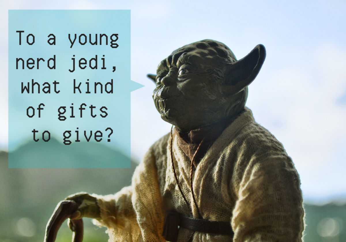 What does a nerd man want? Only Yoda knows.