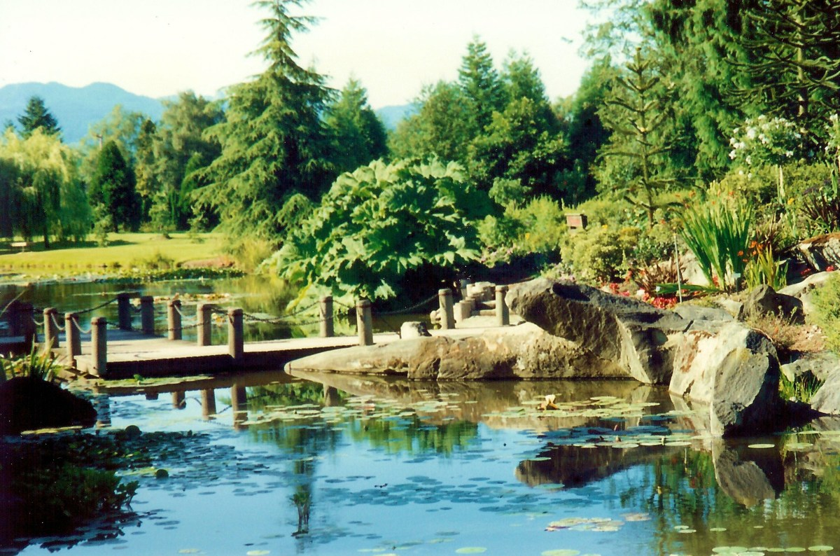 The VanDusen Botanical Garden in Vancouver, Canada, Is a Beauty!