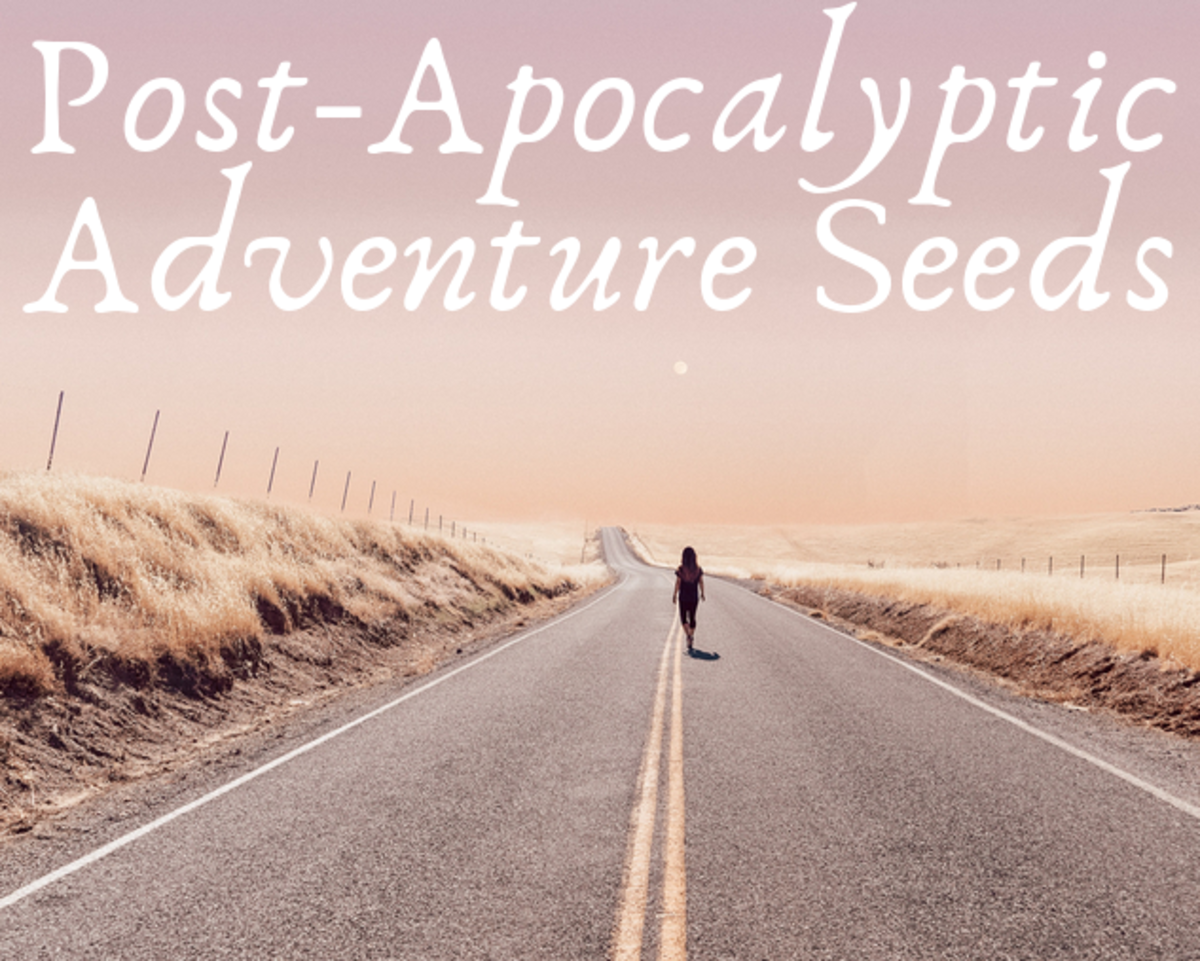 These post-apocalyptic adventure seeds are great fun!
