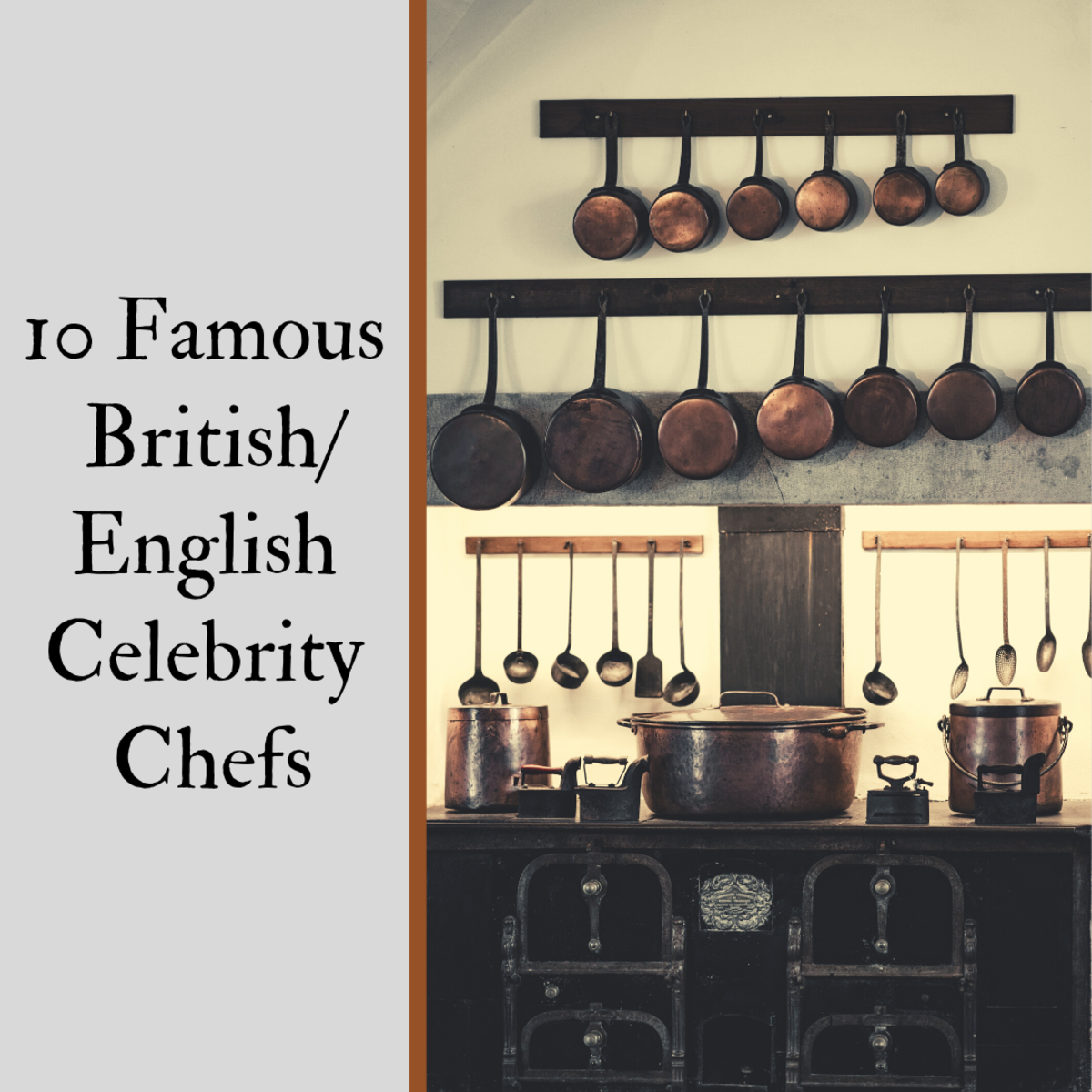 The Top 10 Famous British/English Celebrity Chefs