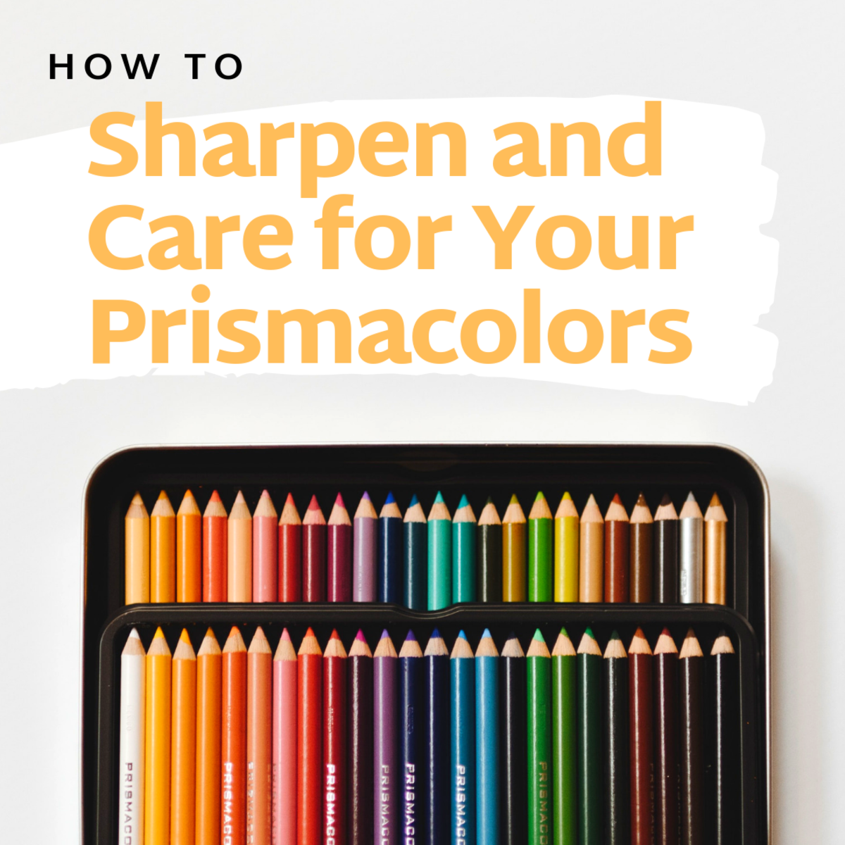 Learn how to sharpen (and take good care of) your Prismacolor colored pencils.