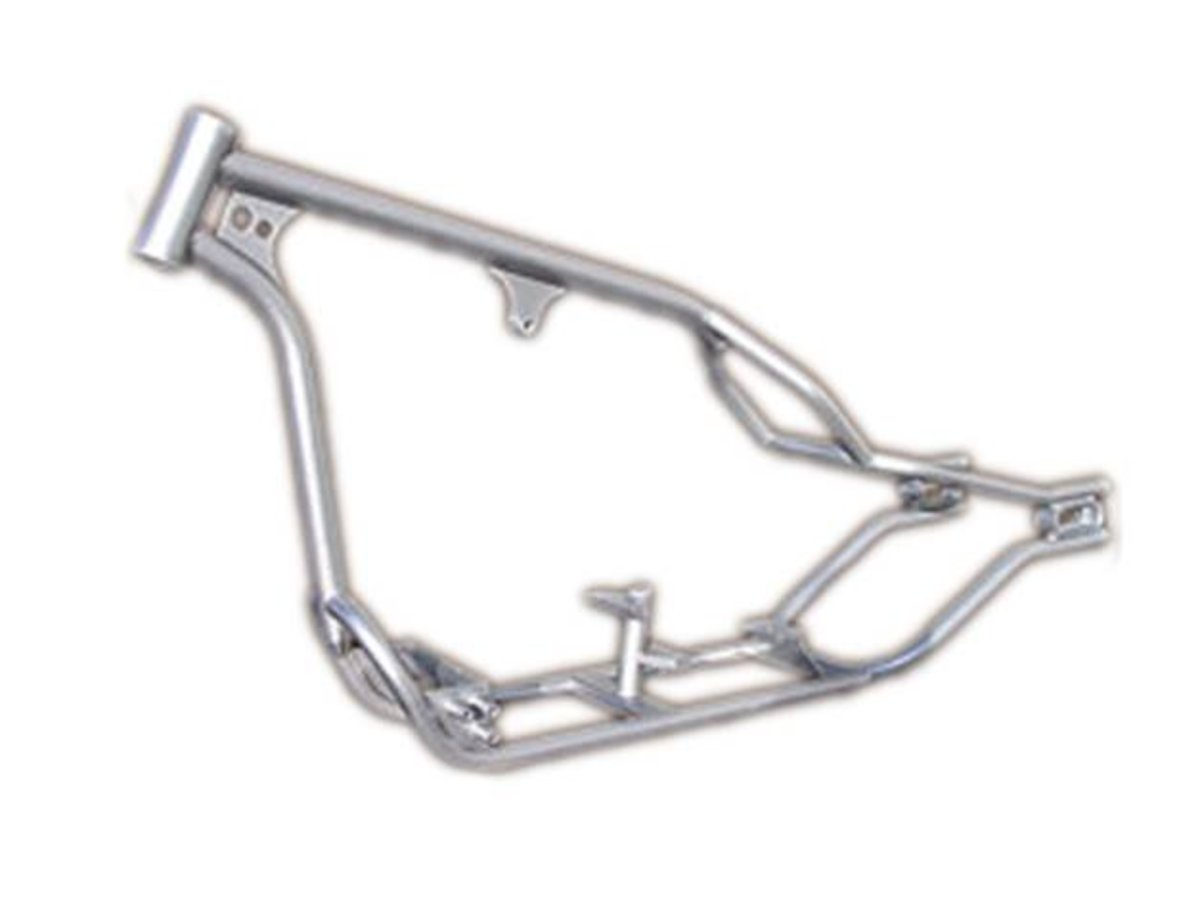 Hard-tail or Rigid Frame (Thompson Choppers frame pictured)