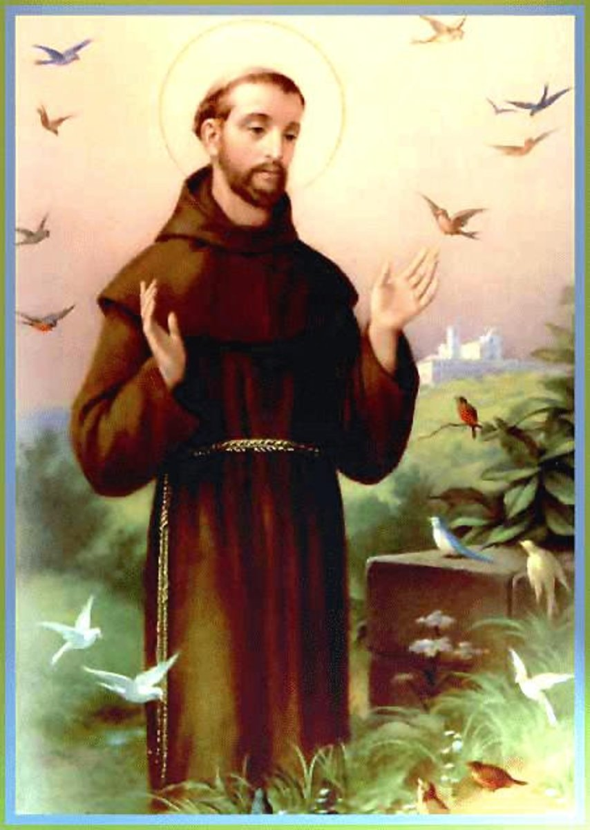 Image result for saint francis of assisi