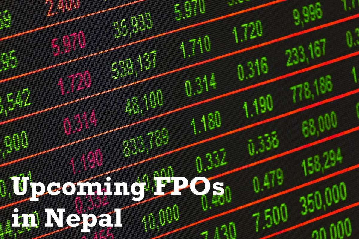 Upcoming Further Public Offerings (FPO) in Nepal