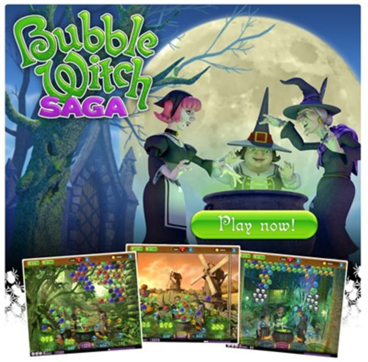 Bubble Witch Saga Tips and Tricks