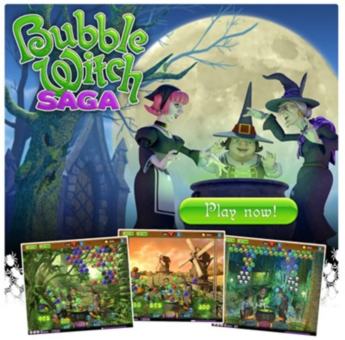 """Bubble Witch Saga"""