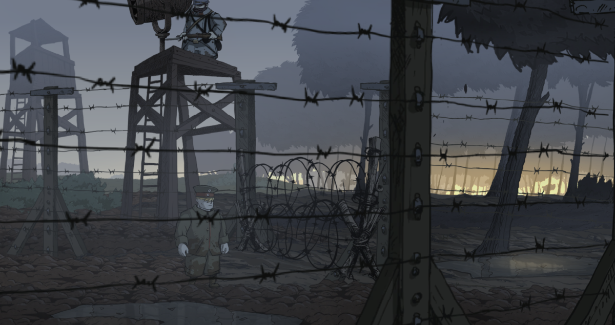 Valiant Hearts Walkthrough, Chapter Three, Part One: Prison Camp