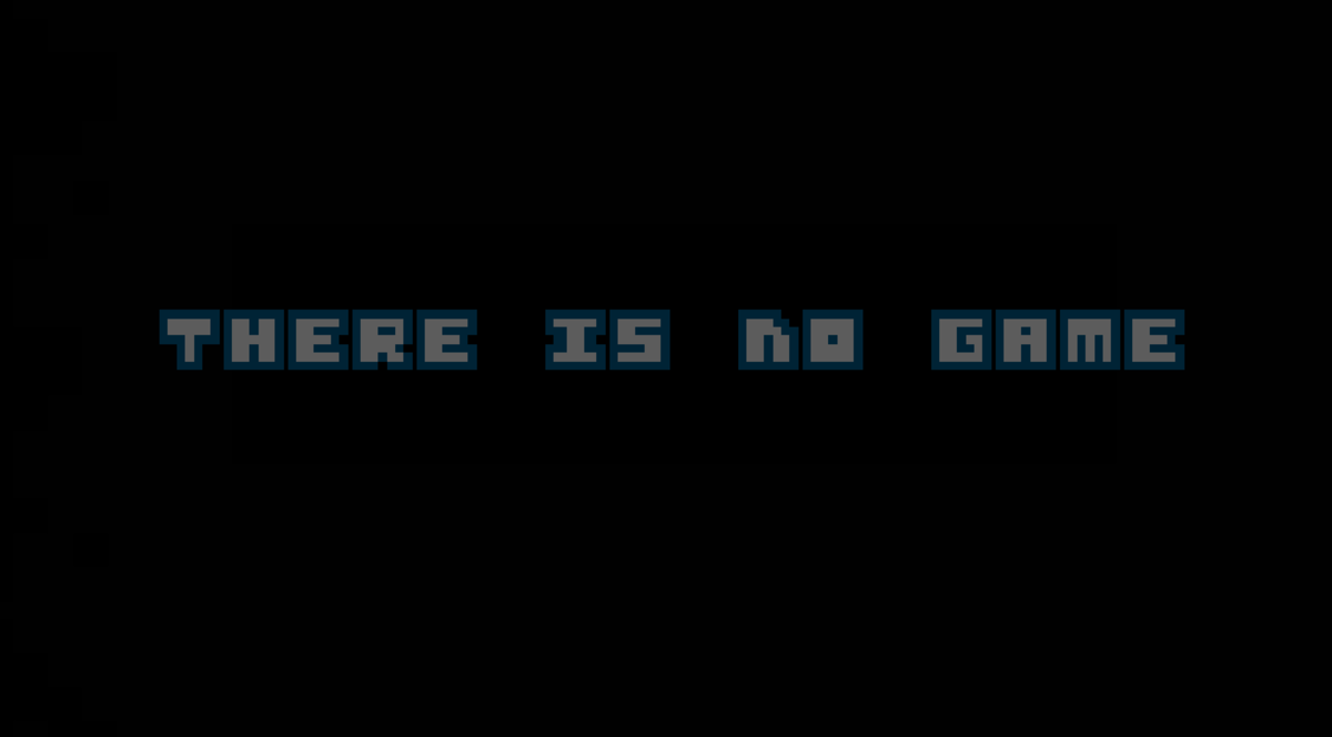 Title screen. Click on the 'O' 10 times to shake it loose and begin the game.