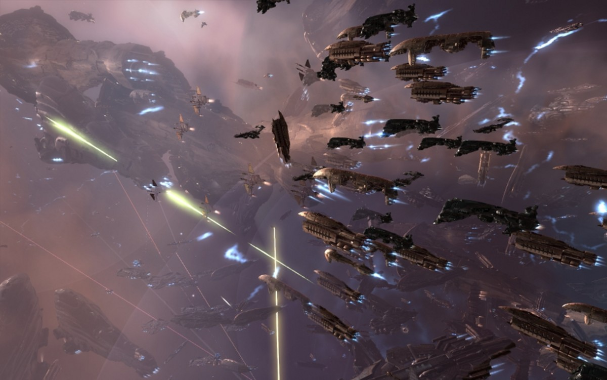 5 Games Like Eve Online