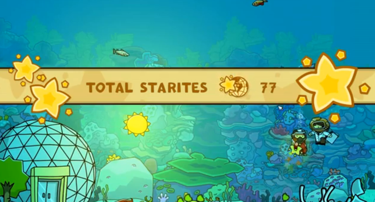 Scribblenauts Unlimited Walkthrough: Alliteration Abyss and Kana Craters