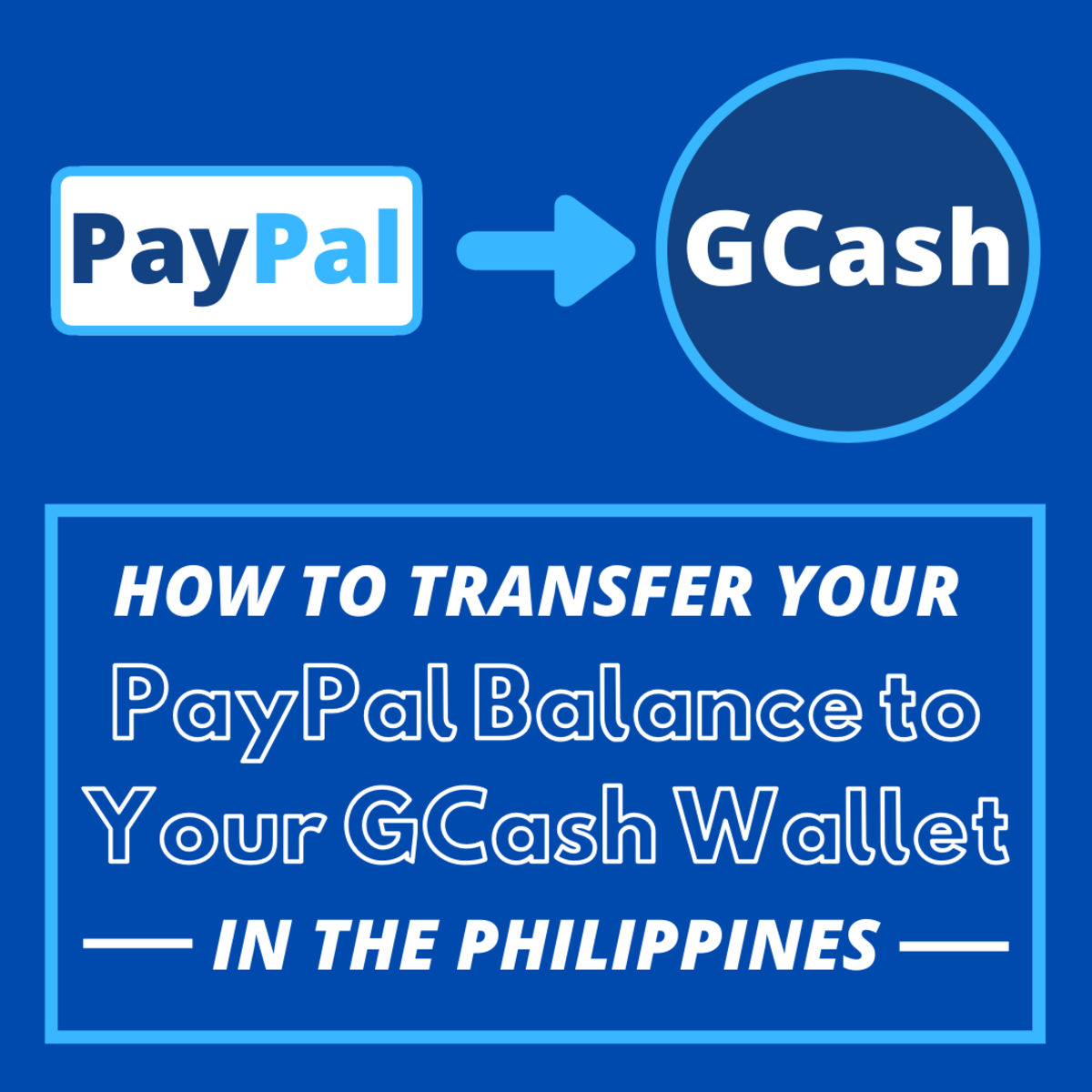 How to Transfer a PayPal Balance to GCash in the Philippines