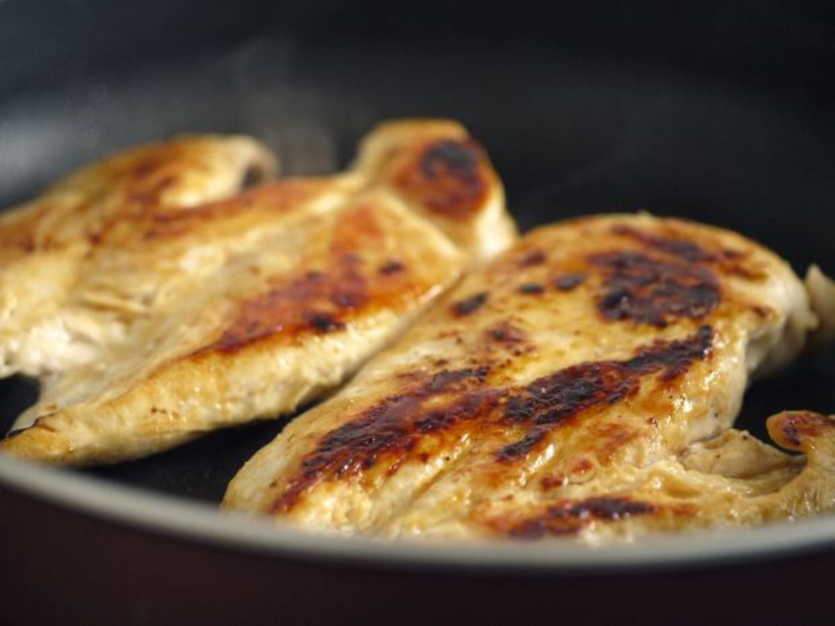 Grilled chicken - a low carb staple.