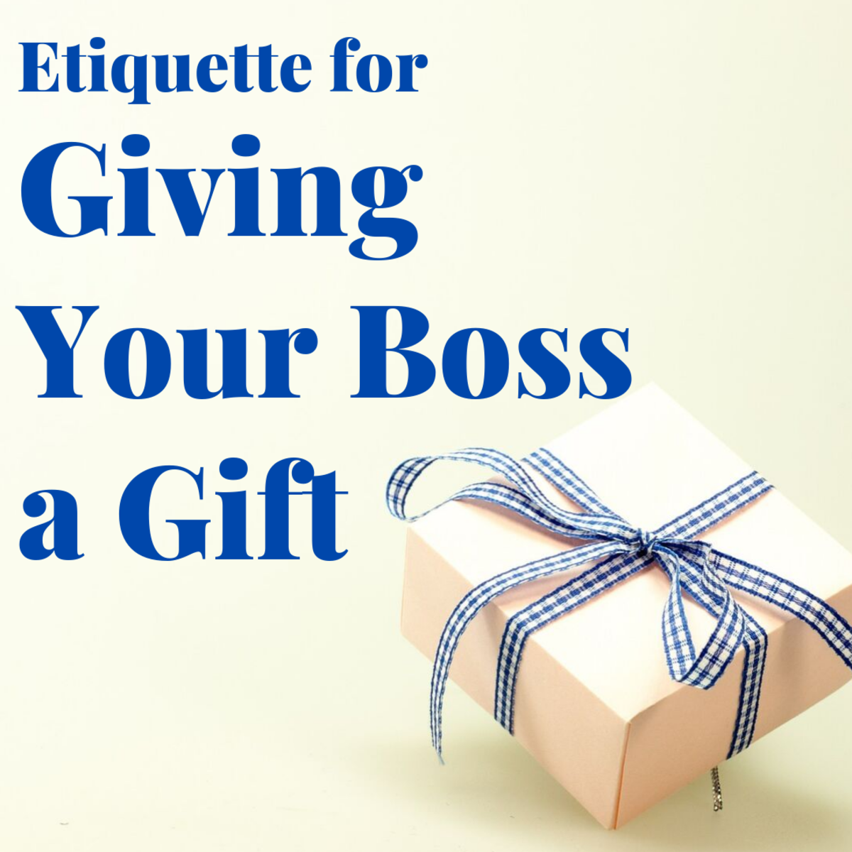 What is the proper etiquette for giving your boss a gift at work?