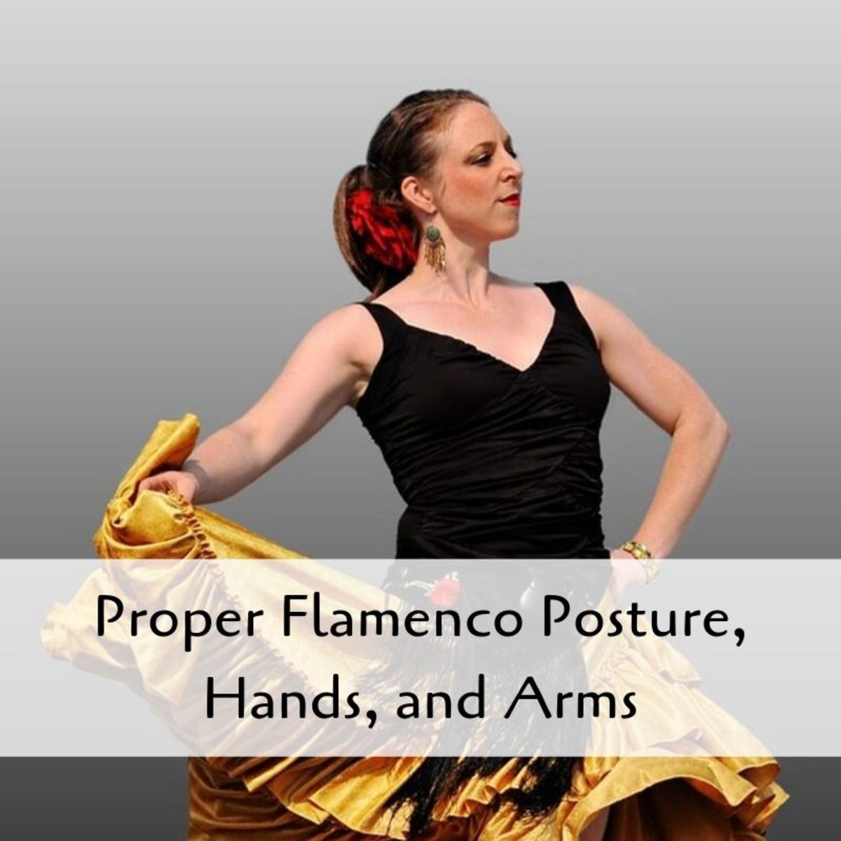 Flamenco is all about the posture.