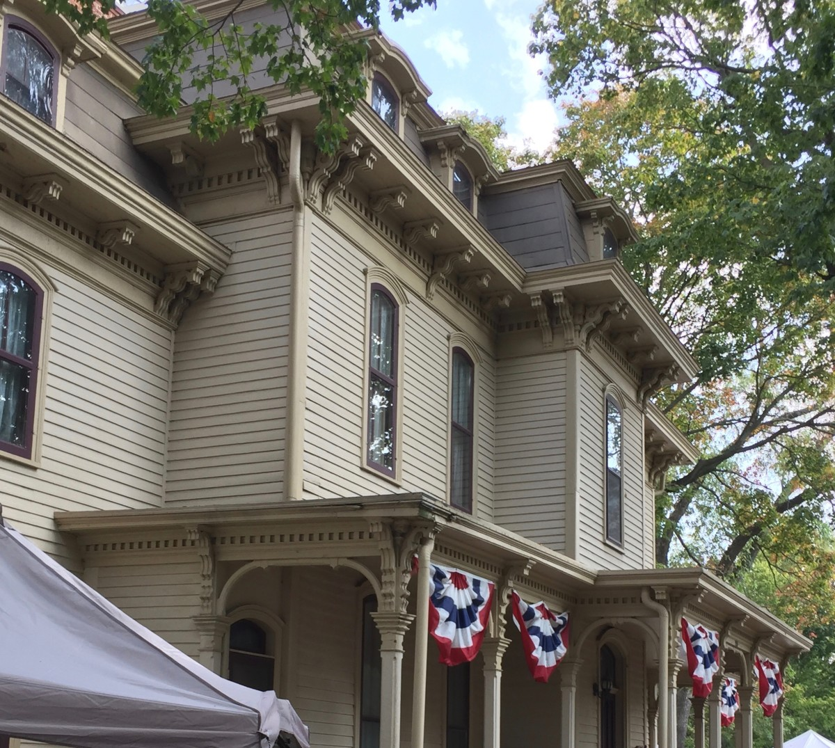 The C.H. Moore Homestead and Apple 'n Pork Festival in Clinton, Illinois