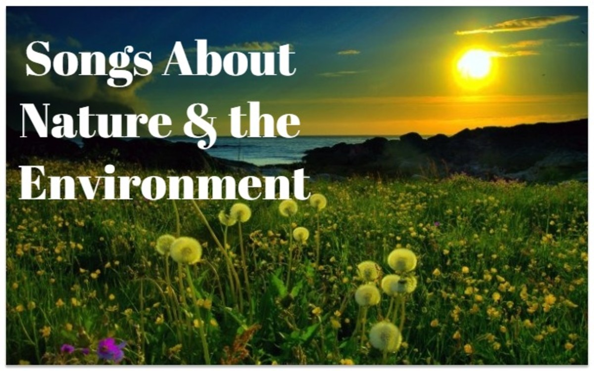 56 Songs About Nature and the Environment