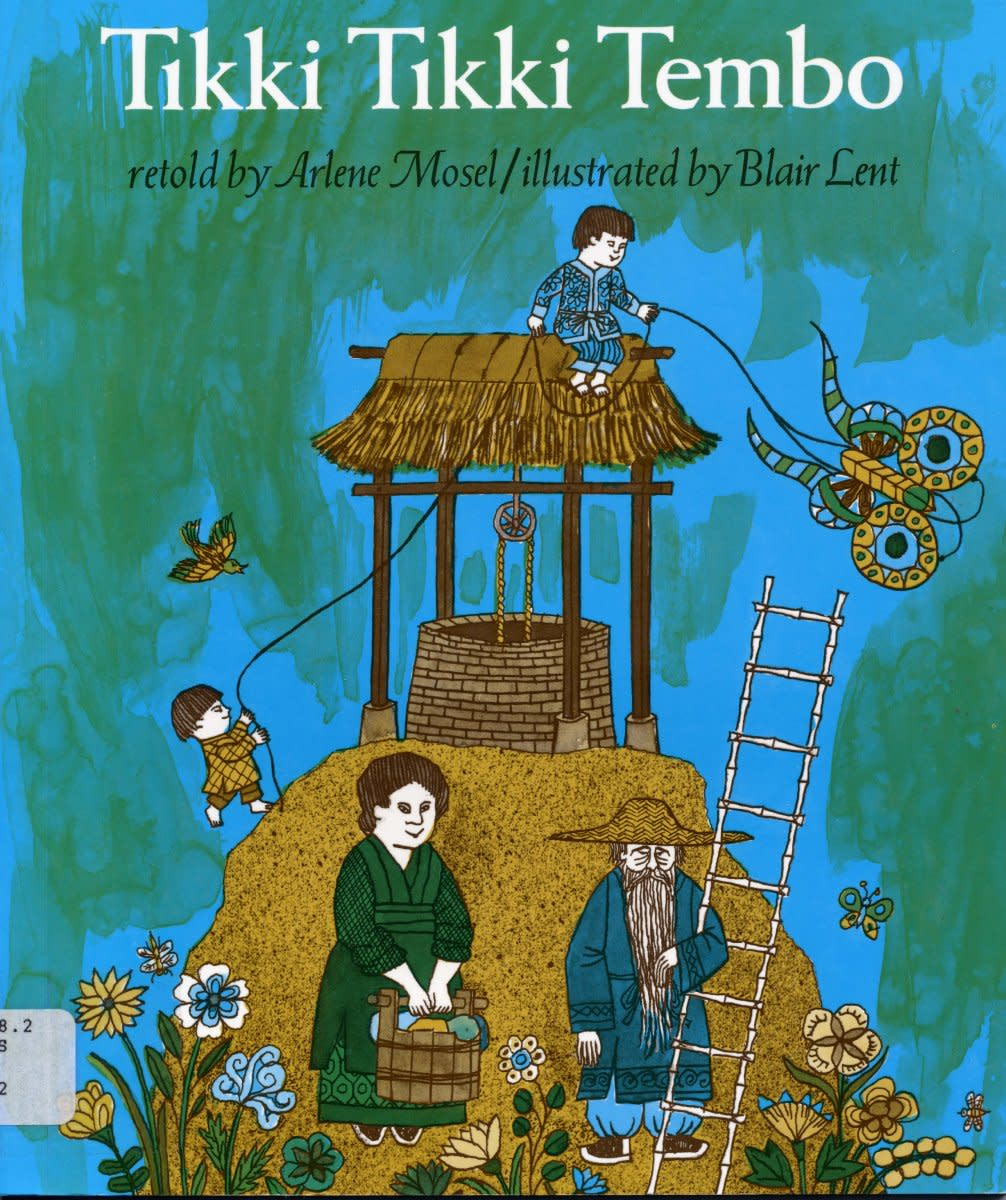 Tikki Tikki Tembo book cover