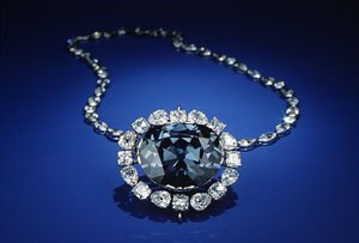 Hope diamond-C. Smithtonian Institution