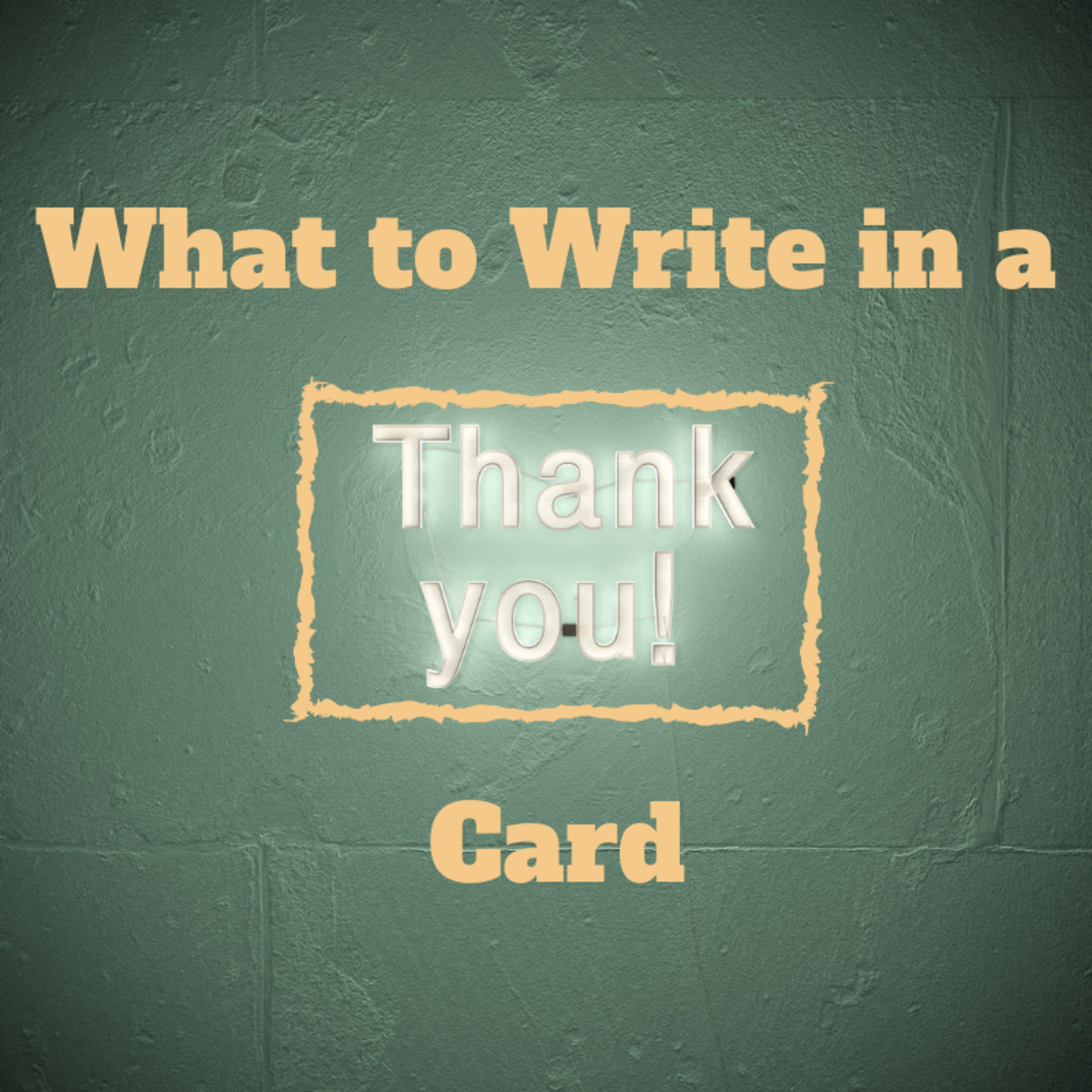 Thank You Messages to Write in a Card