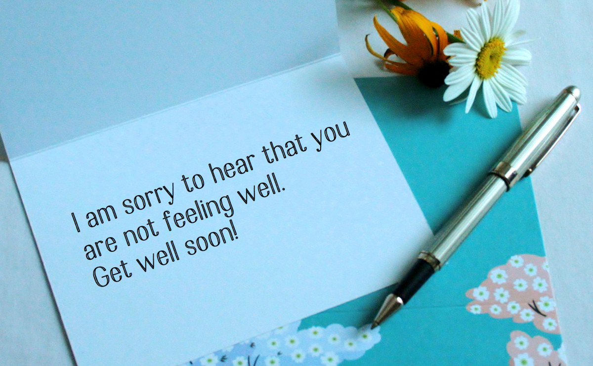 Get Well Soon Messages to Write in a Card | Holidappy