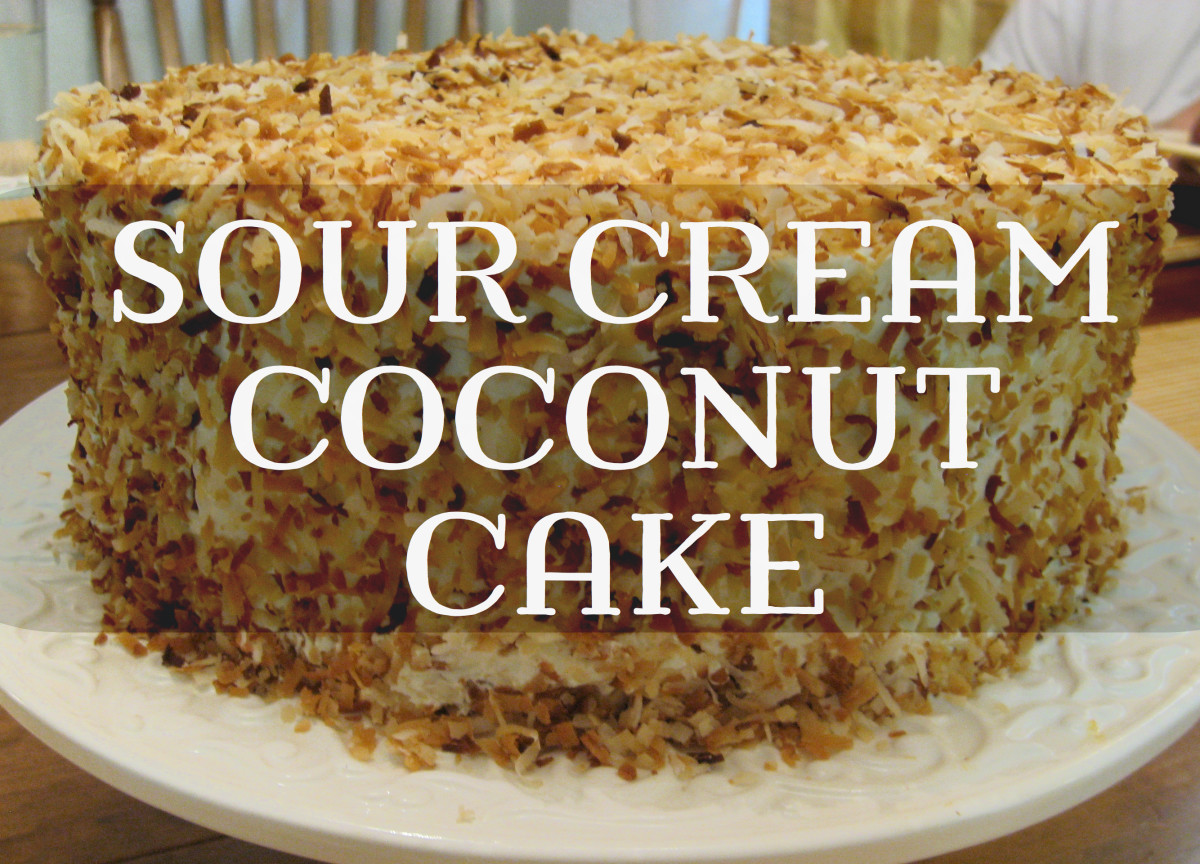 World's Best Coconut Cake Recipe