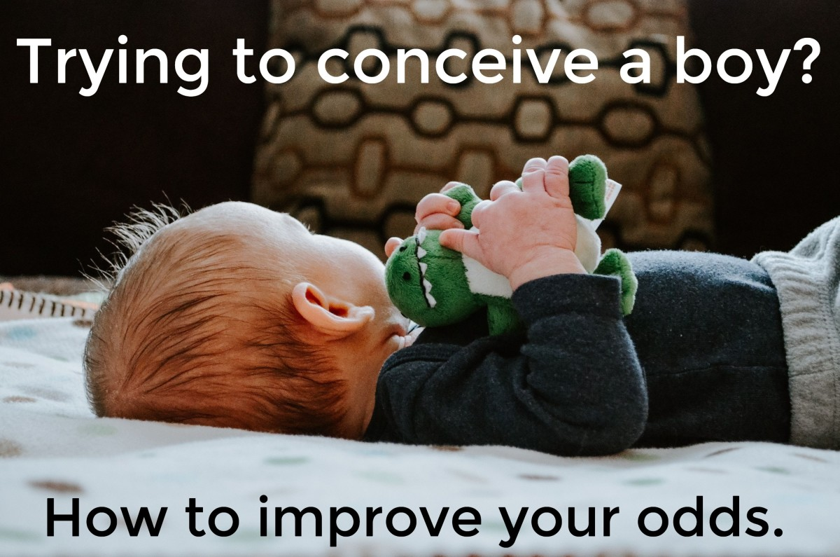 Find out how to safely increase the odds of conceiving a baby boy.