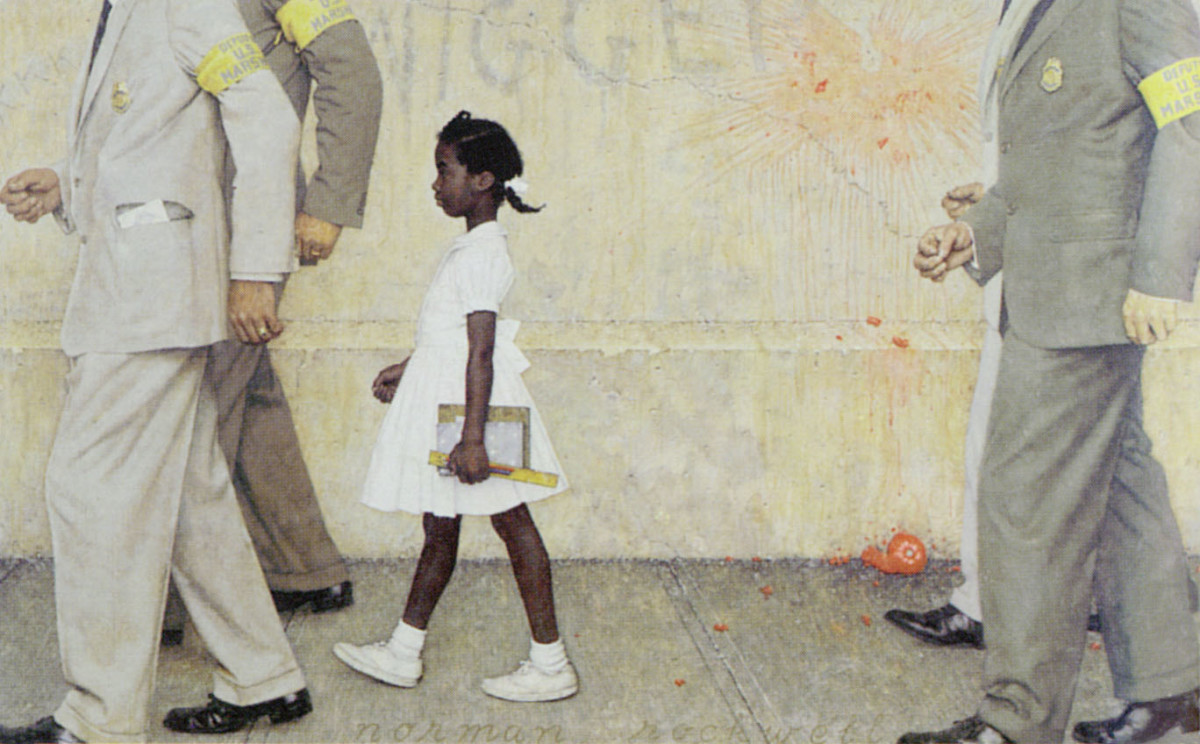 """The Problem We All Live With"" The Truth About Rockwell's Painting"
