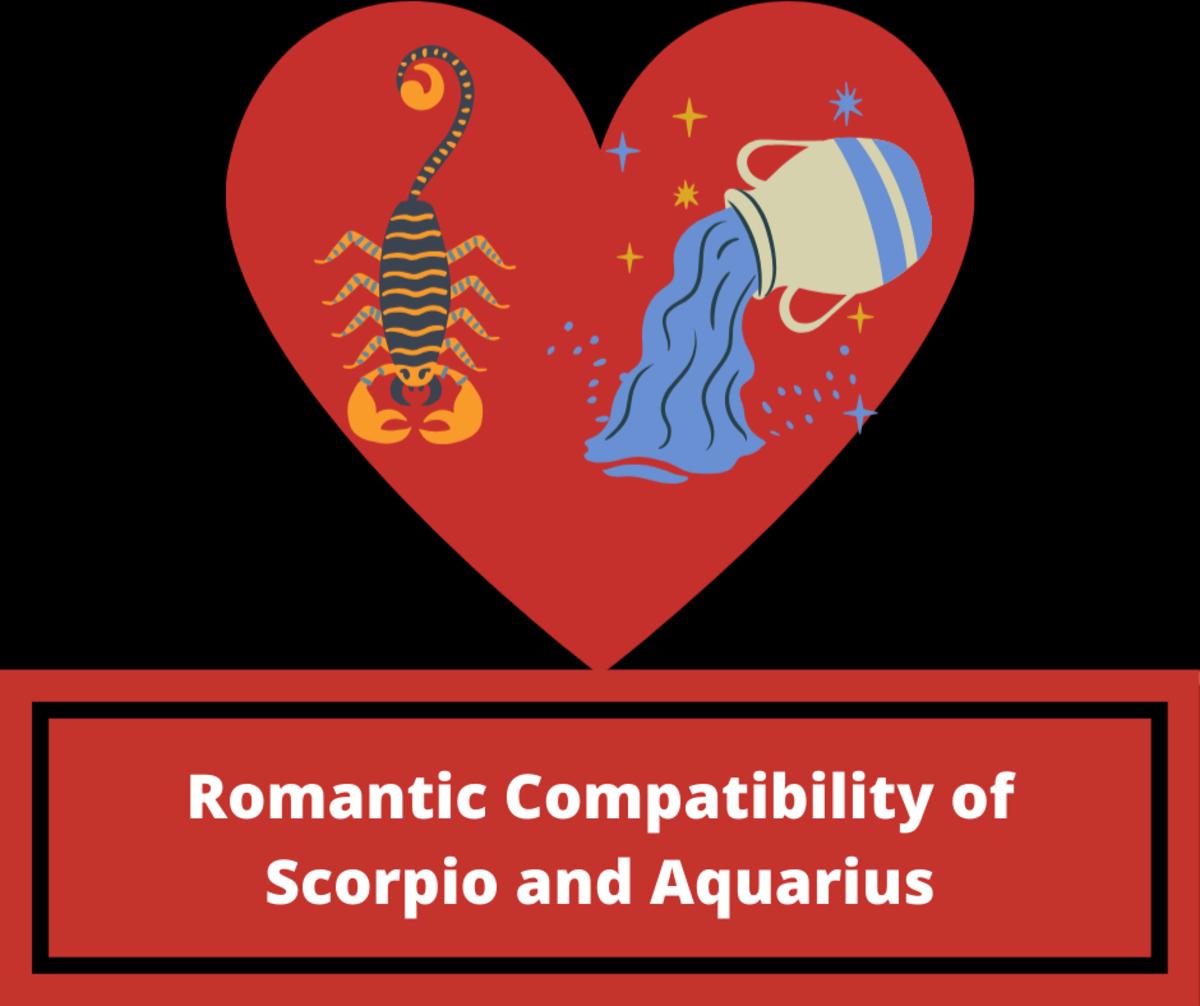 Romantic Compatibility of Scorpio and Aquarius