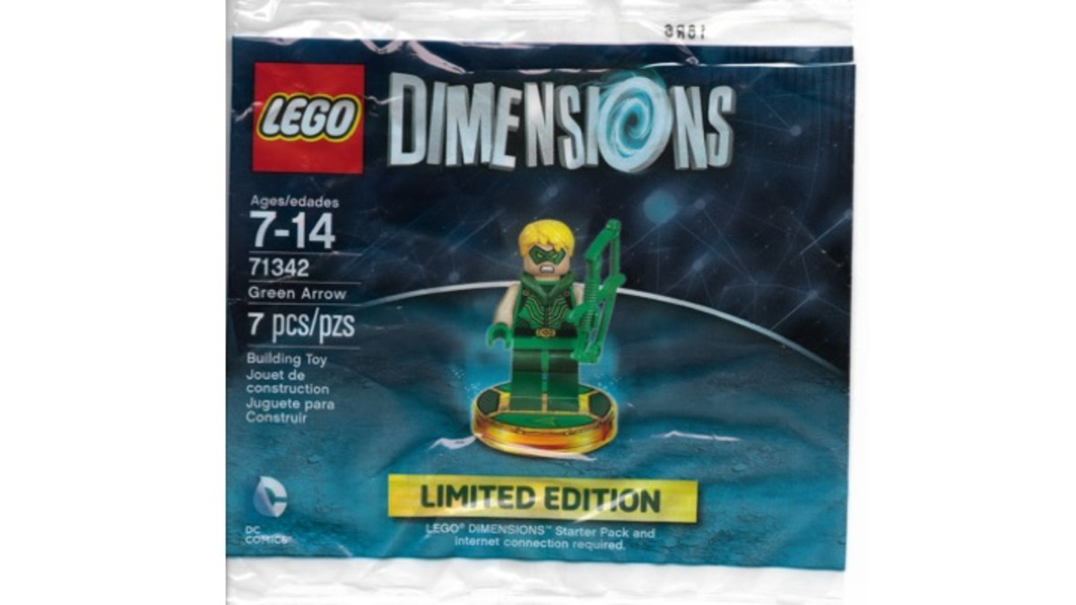 LEGO Dimensions Green Arrow Minifigure Poybag Promotional Set 71342 Review