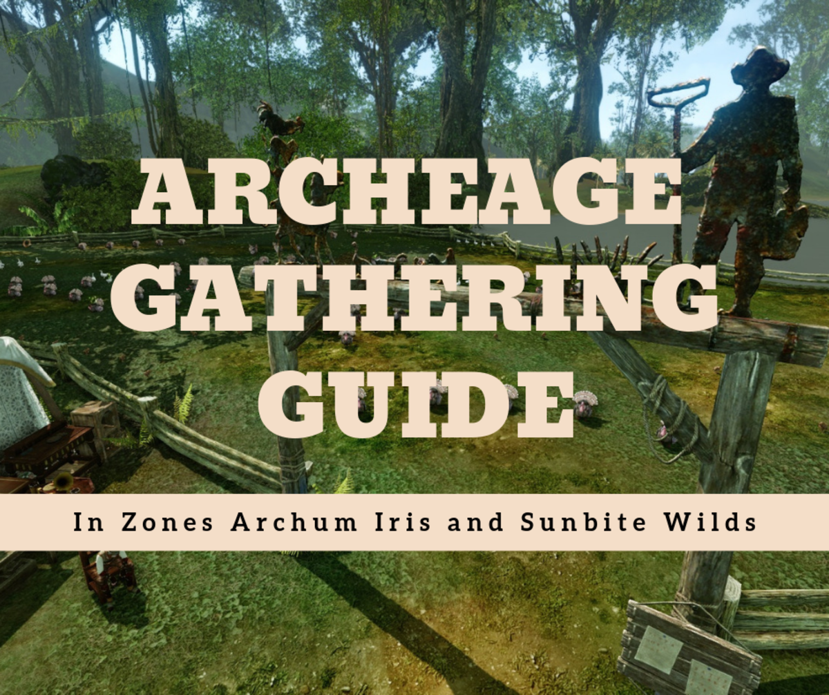 """Archeage"": A Gathering Guide for Archum Iris and Sunbite Wilds"