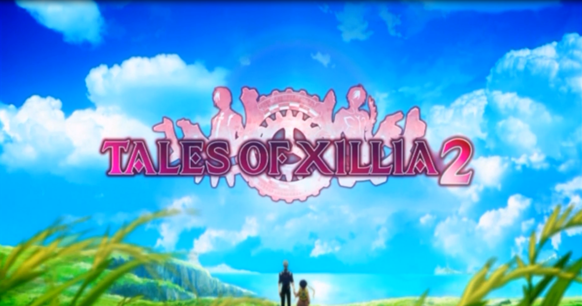 "The ""Tales of Xillia 2"" title logo."