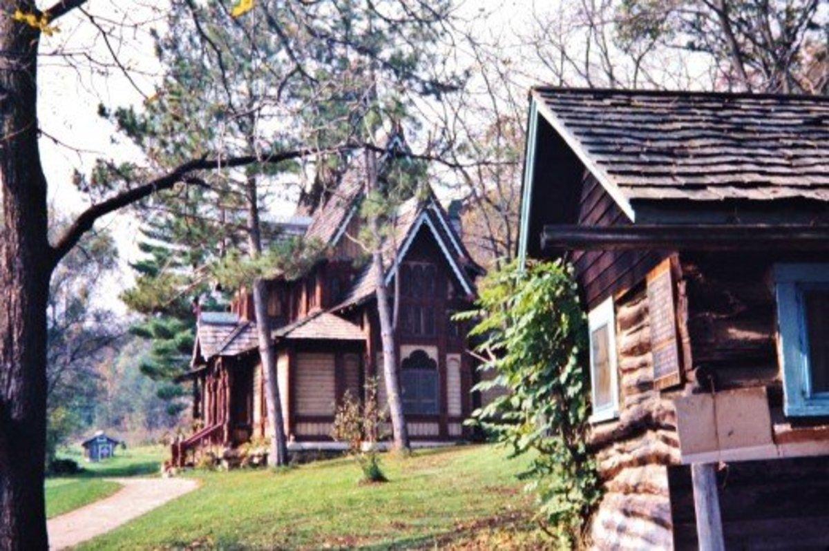 Little Norway Buildings in Wisconsin