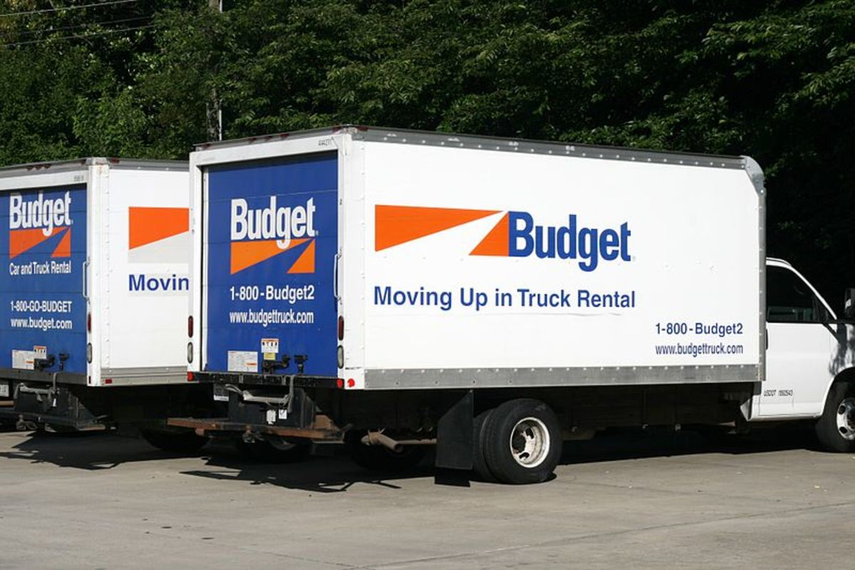 Move yourself with a rented truck