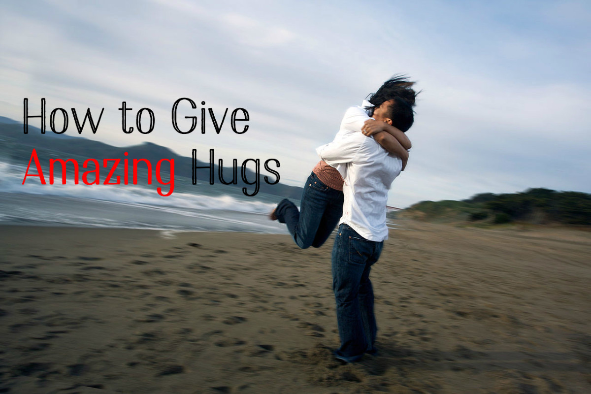 How to Hug a Woman Like a Real Man