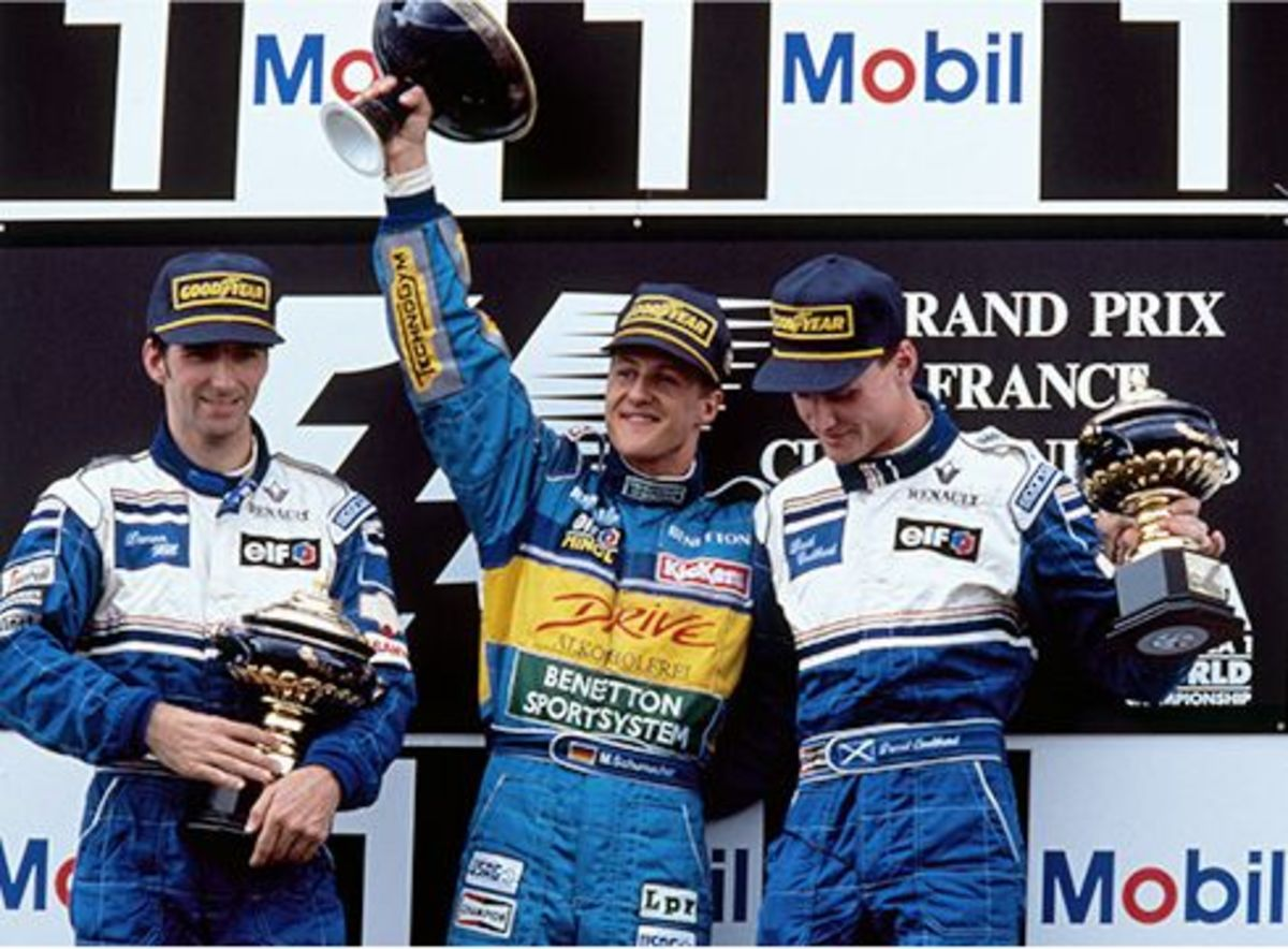 The 1995 French GP: Michael Schumacher's 14th Career Win