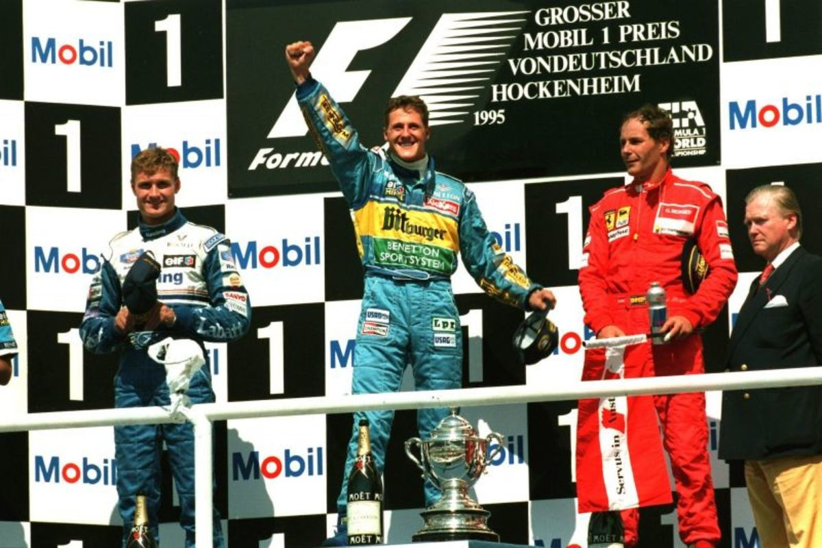 The 1995 German GP: Michael Schumacher's 15th Career Win
