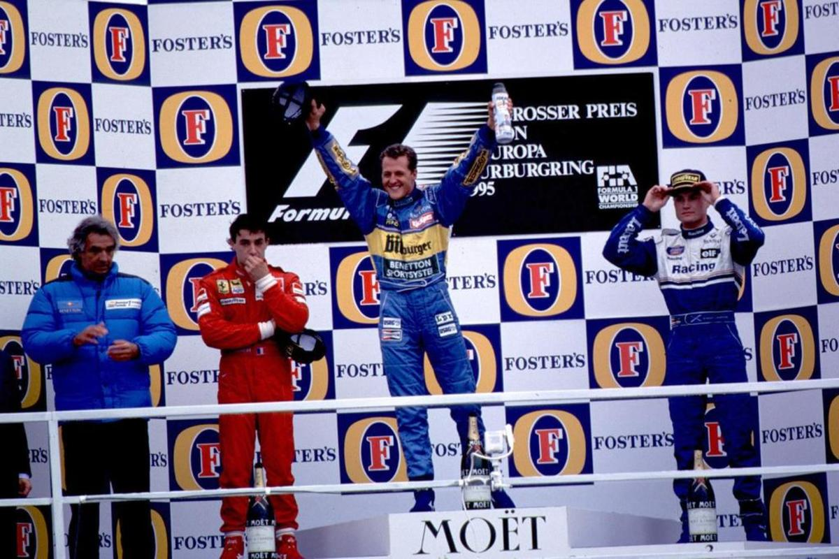 The 1995 European GP: Michael Schumacher's 17th Career Win