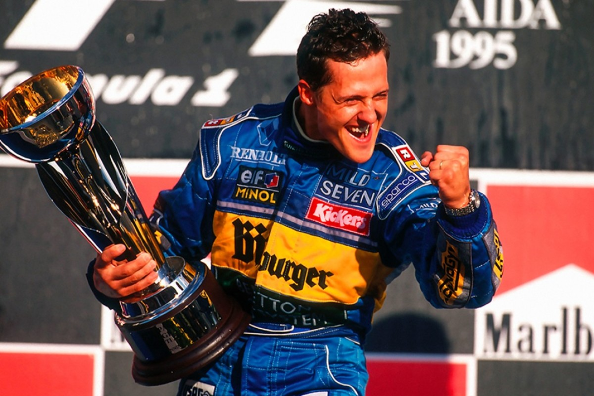 The 1995 Pacific GP: Michael Schumacher's 18th Career Win