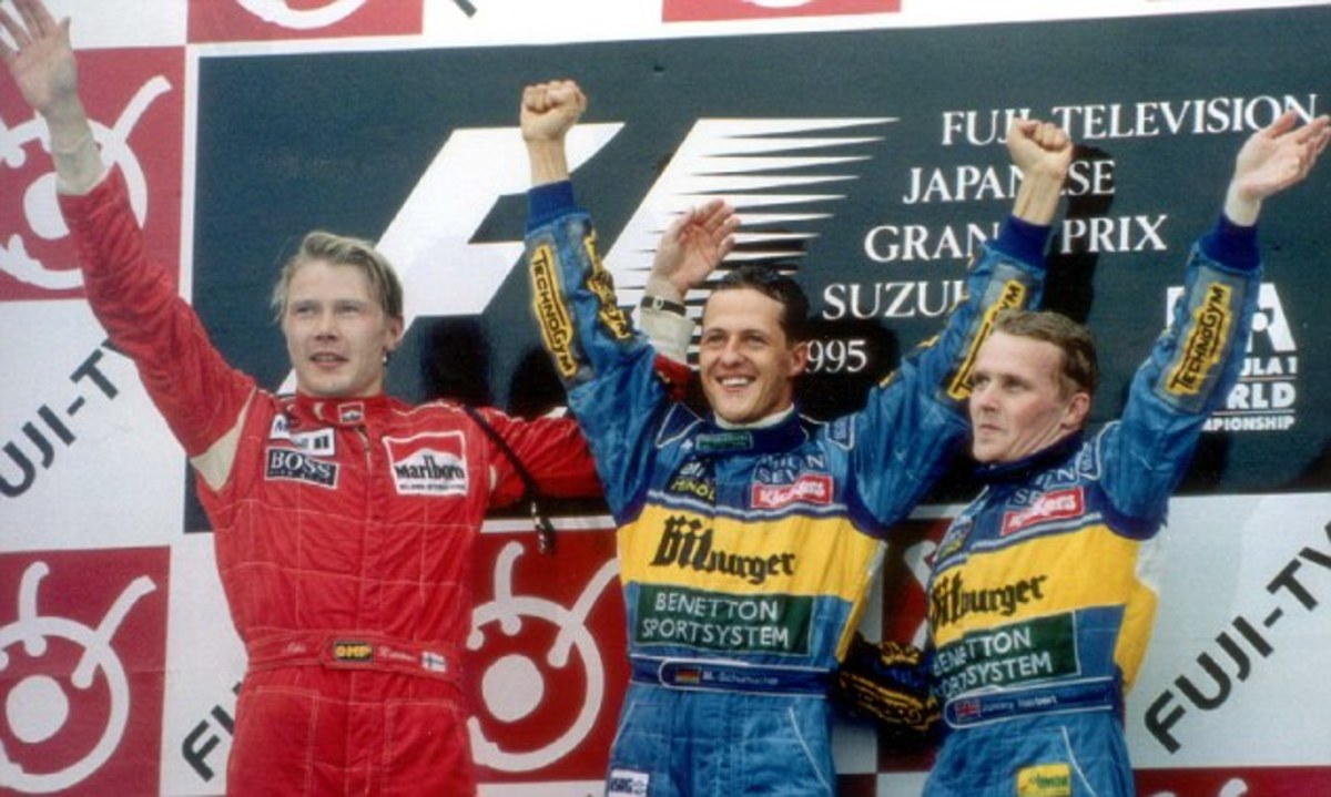 The 1995 Japanese GP: Michael Schumacher's 19th Career Win
