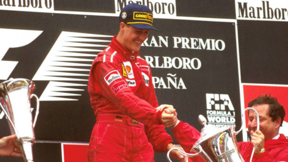 The 1996 Spanish GP: Michael Schumacher's 20th Career Win