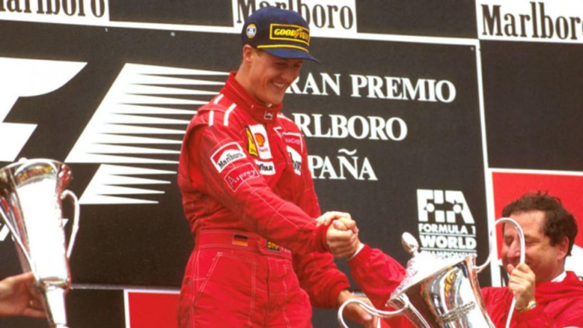 The 1996 Spanish GP: Michael Schumacher's 20th Career Win