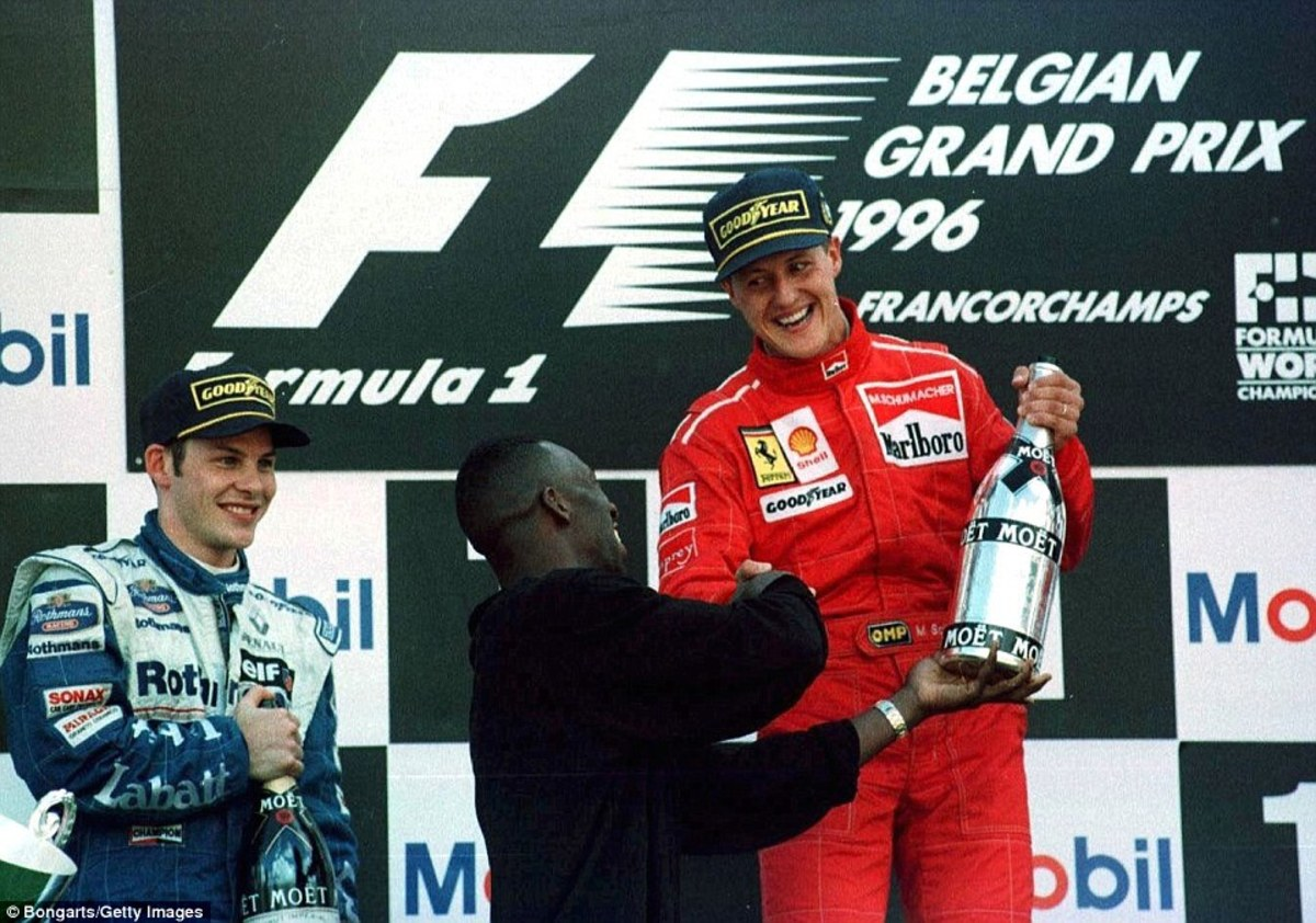 The 1996 Belgian GP: Michael Schumacher's 21st Career Win