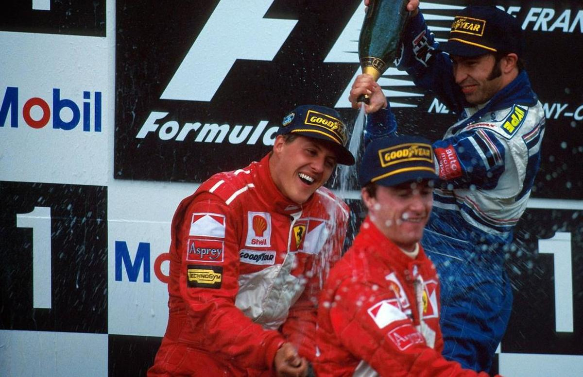 The 1997 French GP: Michael Schumacher's 25th Career Win